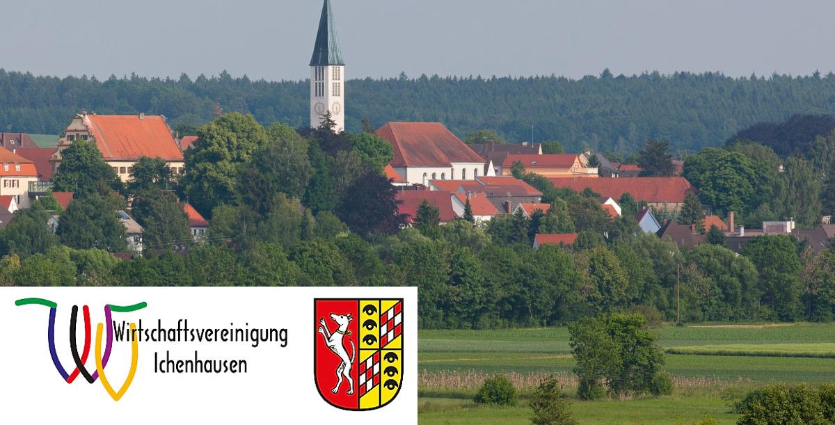 Blick nach Ichenhausen
